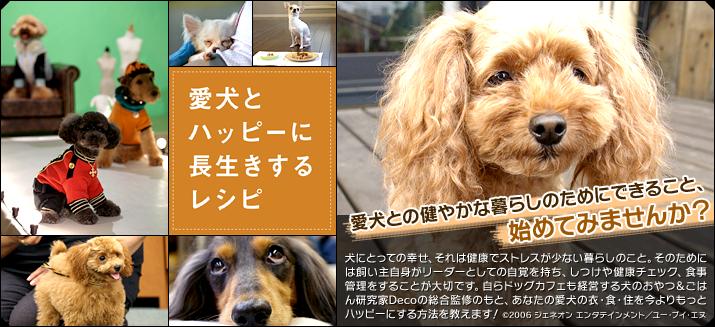 愛犬とハッピーに長生きするレシピ