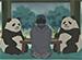 しろくまカフェ 第12話 パンダくん、ヒマに困る / パンダの悩み相談室
