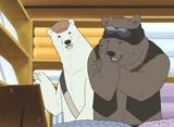 しろくまカフェ 第36話 グリズリーくんの冬眠準備 / グリズリーくんの冬眠