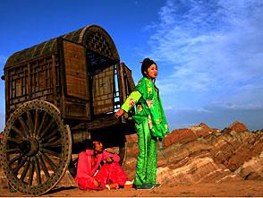 女と銃と荒野の麺屋