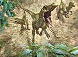 ウォーキング WITH ダイナソー スペシャル:タイムスリップ! 恐竜時代 第1話 巨大カギ爪を追え!