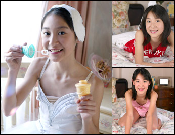 美少女予報 ラヴリーバレリーナ 沢木華11歳