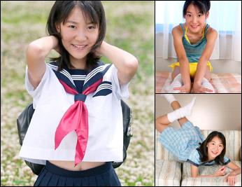 制服日和 放課後編 はな11歳 沢木華写真集