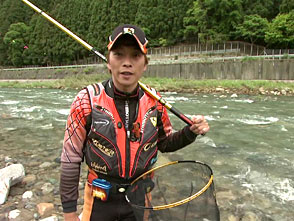 鮎 2010 Yuji Style 2010 いきなりの大ピンチ!白川状態をいかに釣るか?