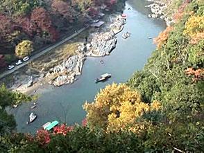 紅葉 名所絶景を訪ねて 嵐山(京都)