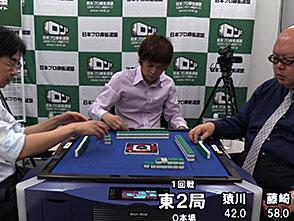 三麻エンペラー新鋭プロ編 予選C卓 1回戦