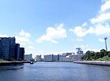 東京リバークルーズ 辰巳〜運河の五差路周辺