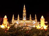 世界遺産のクリスマス ウィーン