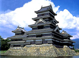 日本の名城を訪ねて 松本城