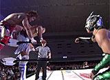 DRAGON GATE 無限大〜infinity〜 1.18 ボディメーカーコロシアム メインイベント オープン・ザ・トライアングルゲート選手権試合