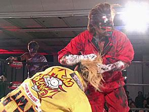DRAGON GATE 無限大〜infinity〜 2.20神戸サンボーホール メインイベント オープン・ザ・トライアングルゲート王座決定戦