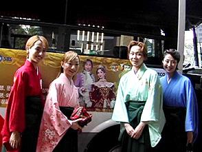 TAKARAZUKA NEWS プレイバック!「星組韓国公演記者会見」〜2005年10月より〜
