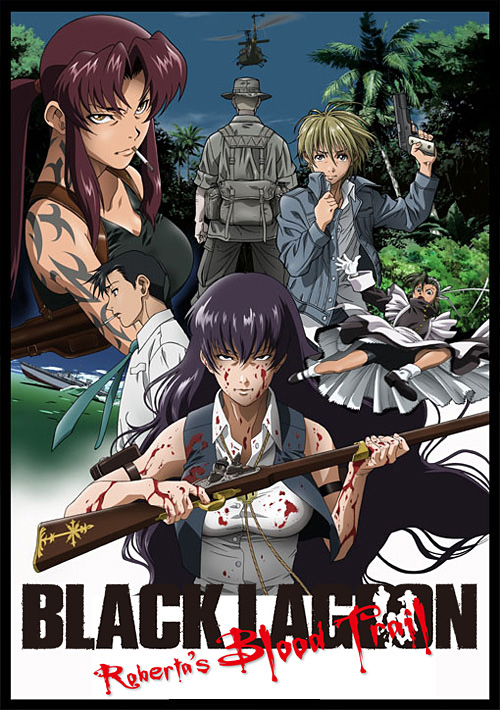 OVA BLACK LAGOON Roberta��s Blood Trail