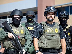 メキシコ国境警備最前線