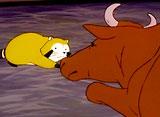 あらいぐまラスカル 第47話 立ちあがった仔牛