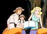 七つの海のティコ 第9話 幻の地底湖に浮かぶ希望の船