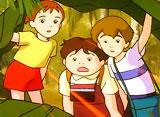 七つの海のティコ 第29話 ナナミの冒険 チョウの舞う島!
