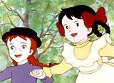 赤毛のアン 第10話 アン・心の友と遊ぶ