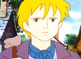 ロミオの青い空 第4話 似顔絵の少年