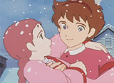 愛の若草物語 第46話 思いがけないクリスマスプレゼント
