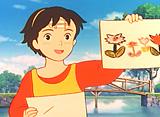 若草物語 ナンとジョー先生 第2話 川と野原はステキな教室!!