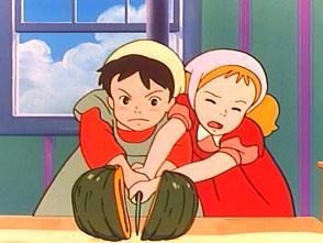 若草物語 ナンとジョー先生 第8話 はじめてのパンプキンパイ