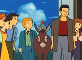 若草物語 ナンとジョー先生 第12話 プラムフィールドの嵐
