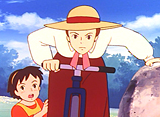 若草物語 ナンとジョー先生 第39話 おてんばジョー自転車に乗る