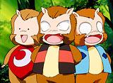 犬夜叉 第88話 猿神さまの三精霊