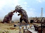 帰ってきたウルトラマン 第14話 二大怪獣の恐怖 東京大竜巻