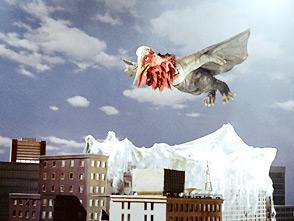 帰ってきたウルトラマン 第17話 怪鳥テロチルス 東京大空爆