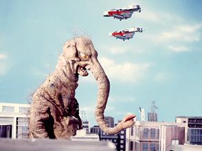帰ってきたウルトラマン 第19話 宇宙から来た透明大怪獣