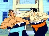 魁!!男塾 第6話 大相撲男塾場所おちこぼれ椿山VS鬼横綱