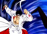 魁!!男塾 第21話 最終決戦・桃VS伊達、遂に死への秒読みが始まった