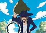 ワンピース 第10話 史上最強の変な奴!催眠術師ジャンゴ
