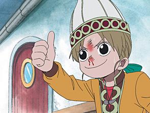 ワンピース 第54話 新たなる冒険の予感!謎の少女アピス