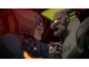 TIGER & BUNNY 第7話 The wolf knows what the ill beast thinks. (蛇の道は蛇)