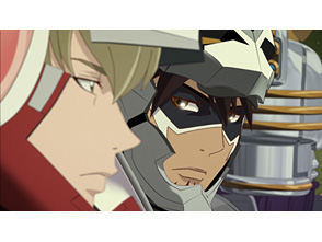 TIGER & BUNNY 第12話 Take heed of the snake in the grass. (草の中にいる蛇に用心せよ)