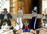 ワンピース 第98話 砂漠の海賊団登場! 自由に生きる男達