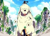 """ワンピース 第176話 """"巨大豆蔓""""を登れ!! 上層遺跡の死闘"""