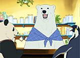 しろくまカフェ 第1話 しろくまカフェへようこそ / パンダくんの就職