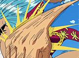 ワンピース 第238話 ゴムゴム人間VS火を吹く改造人間