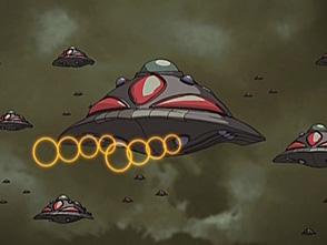 ProjectBLUE 地球SOS 第2話 怪円盤襲来! スカイナイト発進せよ! 後編