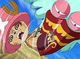 ワンピース 第419話 仲間達の行方 巨鳥の島と桃色の楽園!