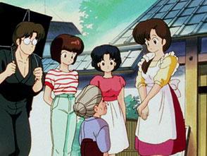 らんま1/2 デジタルリマスター版 第1シーズン 第17話 骨盤占い! らんまは日本一のお嫁さん