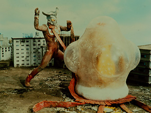 ウルトラマンレオ 第40話 恐怖の円盤生物シリーズ! MAC全滅!円盤は生物だった!