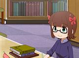 ぷちます!!-プチプチ・アイドルマスター- 第37話 図書館で花まる笑顔
