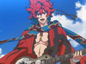 幕末Rock 第1話 片魂(ピースソウル)!ロックやるぜよ!