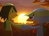 妖怪ウォッチ 第33話 妖怪じがじぃさん/ホンモノはどっちだ!?/太陽にほえるズラ 第4話「張り込み」