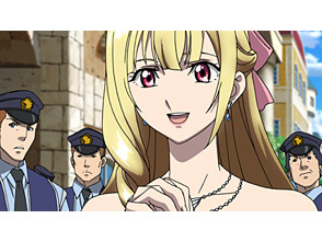 クロスアンジュ 天使と竜の輪舞 第1話 堕とされた皇女